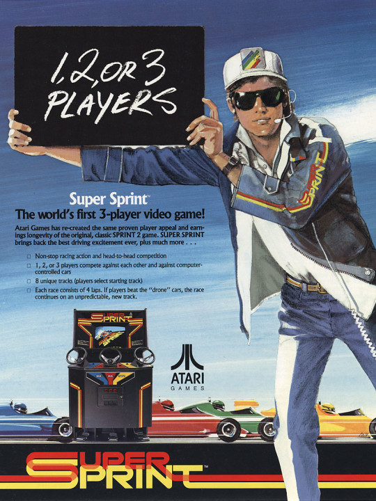 Super Sprint flyer front